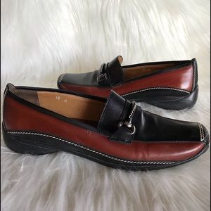 Sesto Meucci 10 driving loafer Italian leather